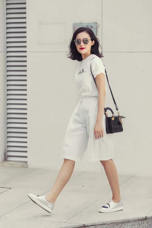 Phối quần culottes cùng với giày gì? 1